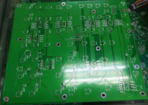 2 layers PCB for console of Machine
