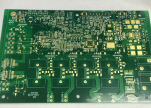 Immersion golden PCB